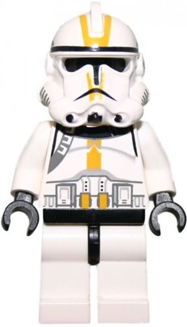 LEGO® Star Wars: Clone Trooper (Episode 3) Yellow Markings (Star Corps) Minifigure