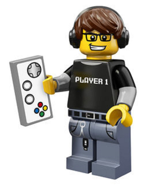 LEGO® Mini-Figures Series 12 - Video Game Guy