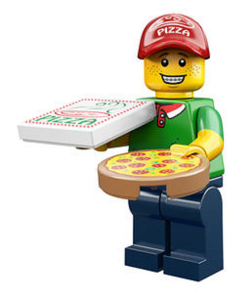 LEGO® Mini-Figures Series 12 - Pizza Delivery Guy