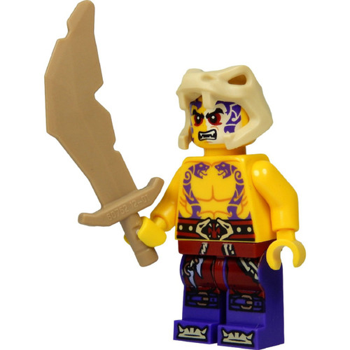 LEGO® Ninjago™  Sleven Minifig with Bone Sword