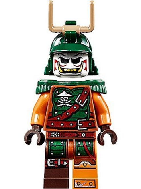 LEGO® Ninjago™ Doubloon Minifig with Dual Swords