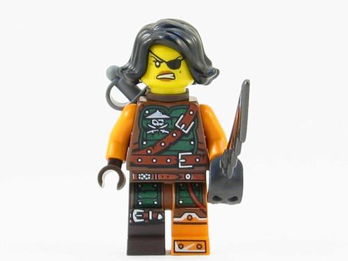 LEGO® Ninjago™ Cyren Minifig - from 70602