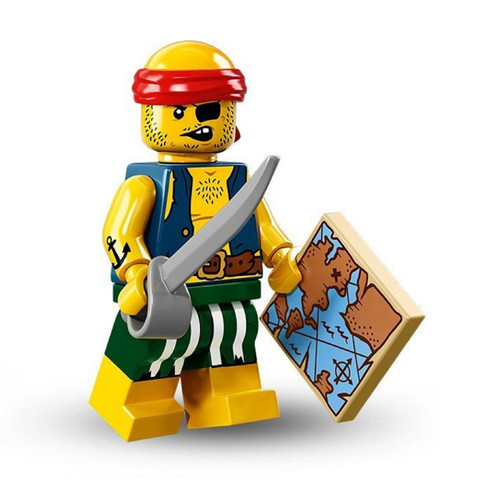 LEGO® Mini-Figures Series 16 - Scallywag Pirate