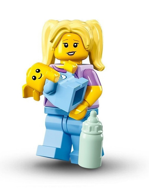 LEGO® Mini-Figures Series 16 -Babysitter with Baby