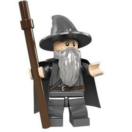 LEGO® Lord of the Rings:  Gandalf the Grey with Staff