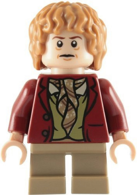 LEGO® Lord of the Rings Hobbit - Bilbo (Red Jacket) Minifig