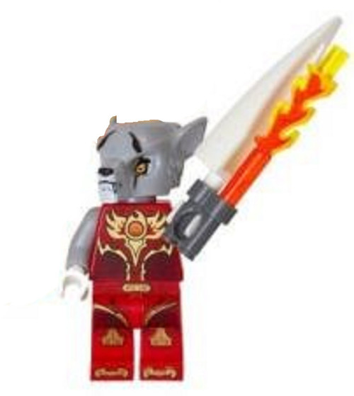 LEGO® CHIMA™ Worriz with Fire Tooth CHI Weapon