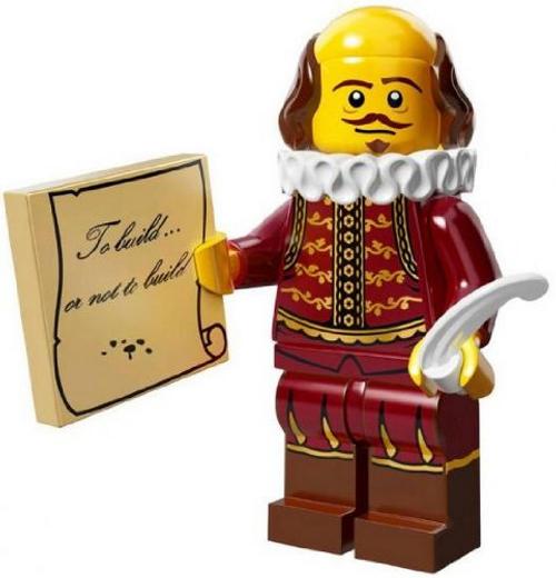 LEGO® Mini-Figures The LEGO Movie - William Shakespeare