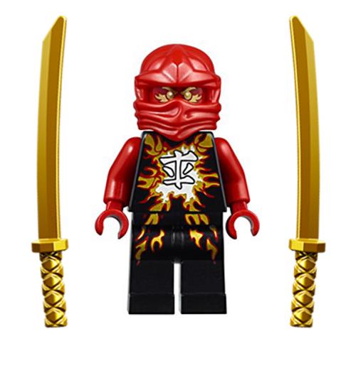 LEGO® Ninjago™ Kai Airjitzu with Dual Gold Swords
