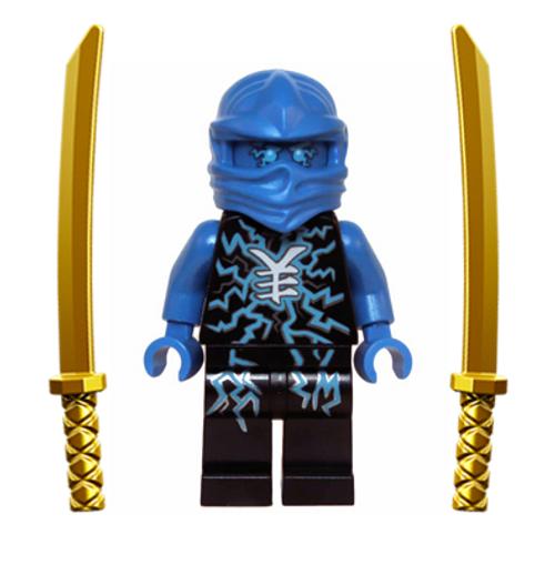 LEGO® Ninjago™ Jay Airjitzu with Dual Gold Swords