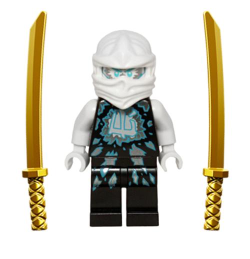 LEGO® Ninjago™ Zane Airjitzu with Dual Gold Swords