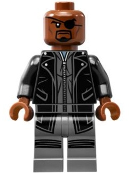 LEGO® Superheroes - Nick Fury in Leather Trench Coat