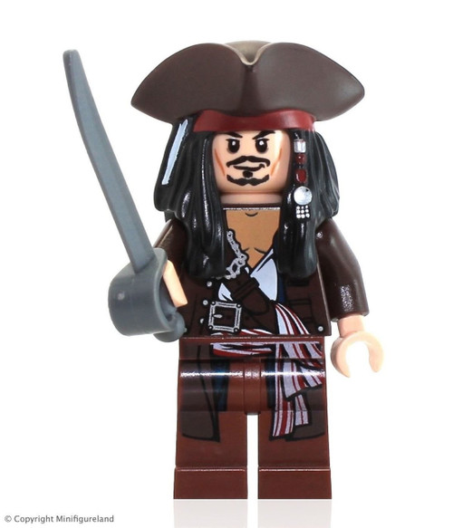 LEGO® Pirates of the Caribbean: Jack Sparrow with Tricorne Hat