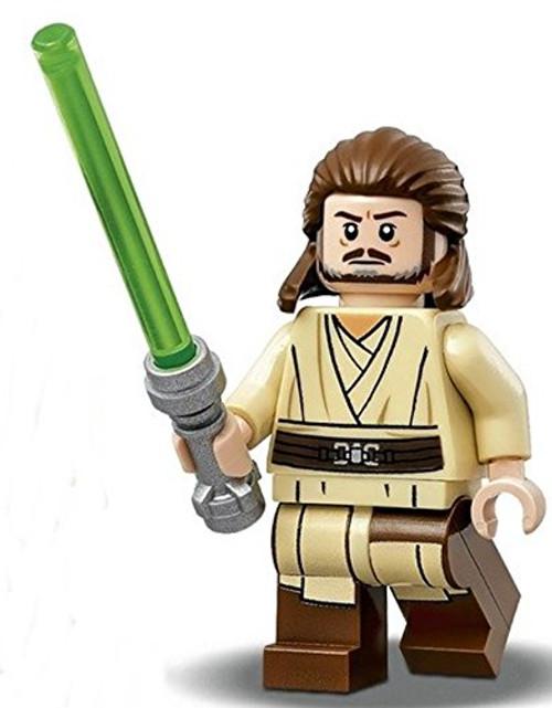 LEGO® Star Wars:  Qui-Gon Jinn Minifigure with Lightsaber 2017 (75169)