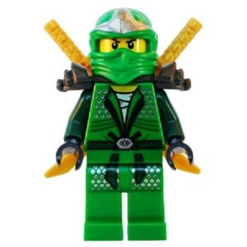 LEGO® Lloyd ZX (Green Ninja) with Dual Gold Swords - Ninjago
