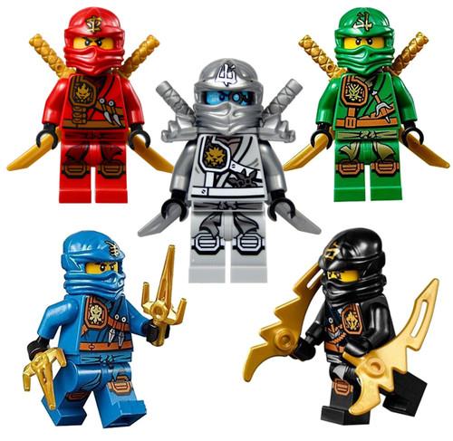 LEGO® Ninjago™ 5 Zukin Ninjas - Lloyd Zane Jay Cole Kai