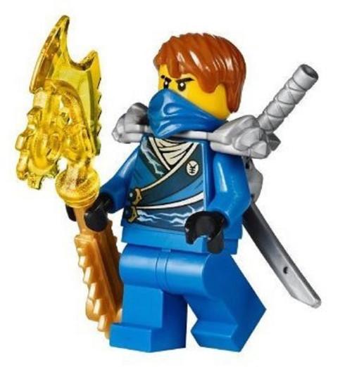 LEGO® Ninjago™ Jay Rebooted minifig from 70728