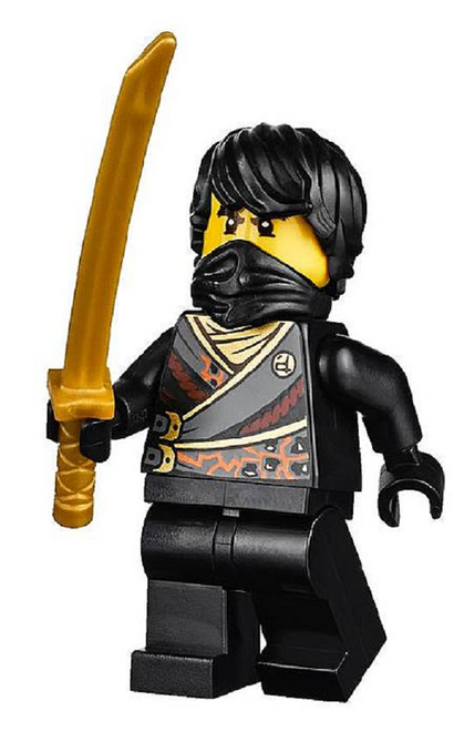 LEGO® Ninjago™ Techno Cole - With Gold Sword - Rebooted
