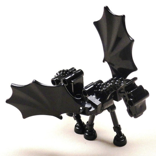 LEGO® Black Thestral Skeletal Horse with Wings