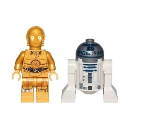 LEGO® Star Wars Minifigure Droids - C-3PO and R2-D2 (75136)