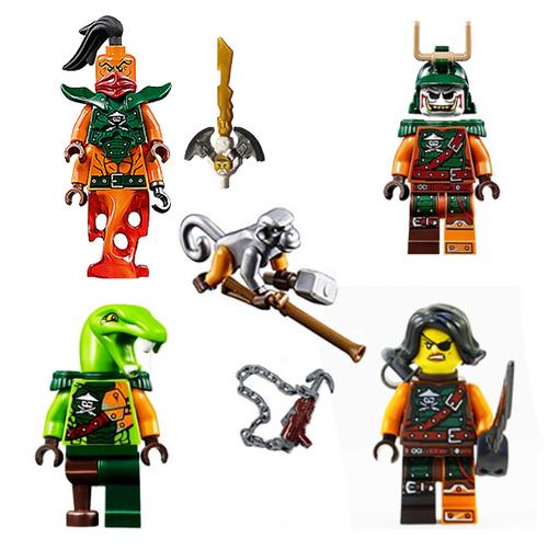LEGO® Ninjago 5 Skybound Pirate Army - Clancee Cyren Doubloon Monkey Nadakhan