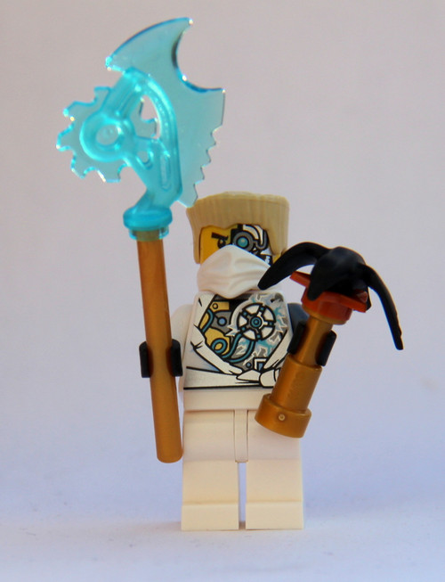 LEGO® Ninjago™ Techno Zane Damaged - With Techno Blade with Falcon - Rebooted