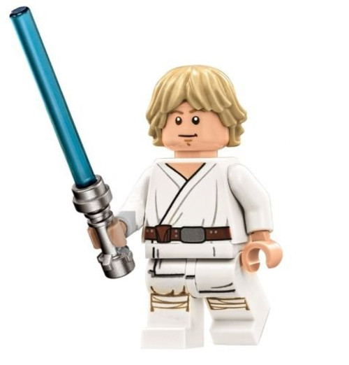 LEGO Star Wars Death Star Minifigure - Luke Skywalker with Lightsaber (75159)