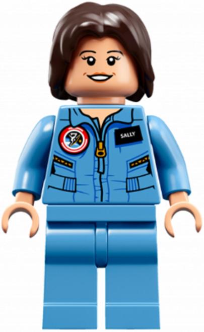 LEGO® Female NASA Astronaut - From RARE set 21312 - Sally Ride