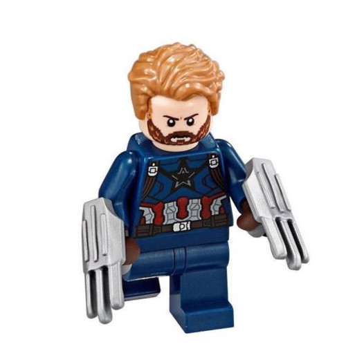 LEGO® Superheroes - Captain America minifig from 76101