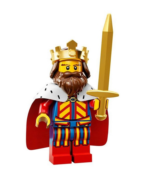 LEGO® Mini-Figures Series 13 - King