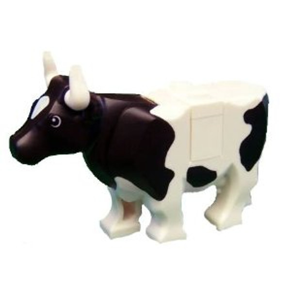 LEGO® City - White  Cow with Black Spots