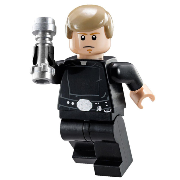 LEGO® Star Wars - Luke Skywalker - Final Duel Minifigure - with Black Hand and Lightsaber (75093)