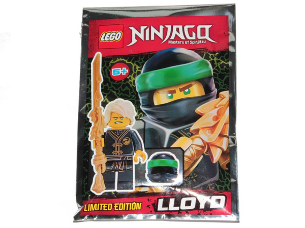 LEGO® Ninjago - Lloyd Wu Cru with Dragon Sword and Tassel