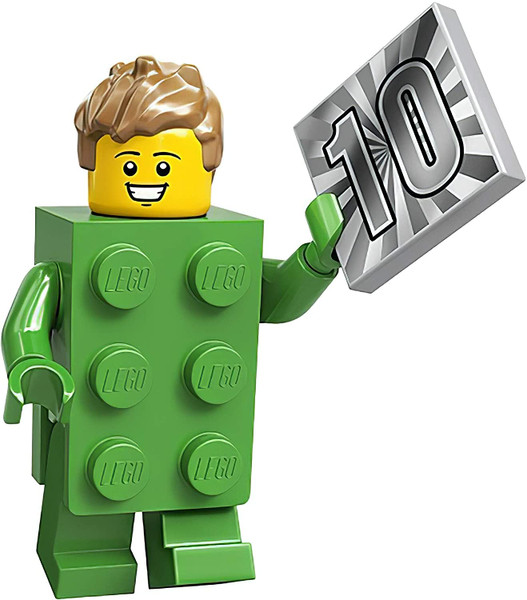 LEGO® Minifigures Series 20 - Green Brick Costume - 71027