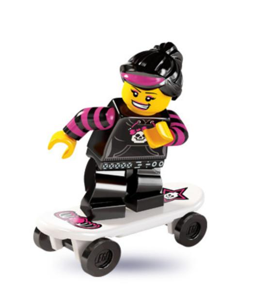 LEGO® Mini-Figures Series 6 - Skater Girl
