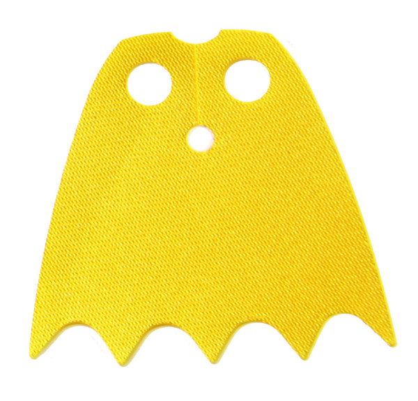 LEGO Batman Shiny Yellow Batgirl Cape - Starched Fabric