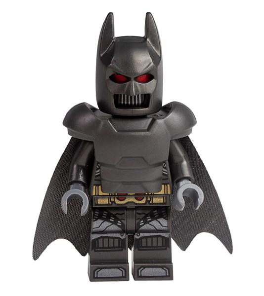 LEGO DC Superheroes: Grey Batman with Armor and Cape