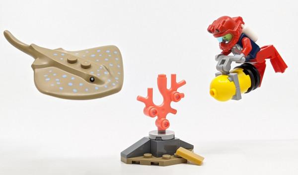 LEGO City: Ocean Diver Poly Set 30370