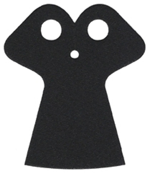 LEGO Accessories: Black Cape - Trench Coat (from Reaper)