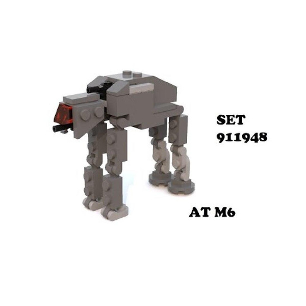 LEGO LEGO Star Wars AT-M6 Walker Micro Set 37 pcs All Terrain MegaCaliber Six