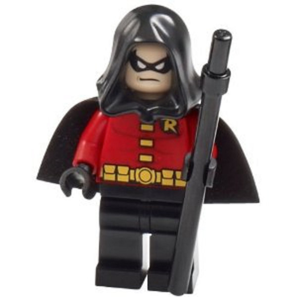 LEGO DC Batman II Robin Minifigure [Black Cape and Hood]