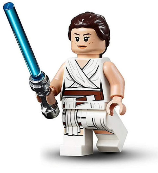 LEGO Star Wars: Rey with Lightsaber - from Rise of Skywalker
