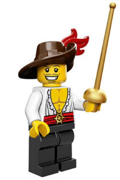 LEGO® Mini-Figures Series 12 - Swashbuckler