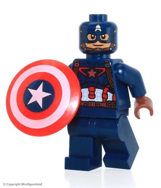 LEGO Marvel Captain America: Civil War Captain America Minifigure