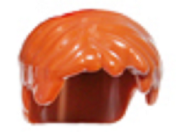 LEGO® Ninjago:  Jay Hair - Dark Orange - For Minifig