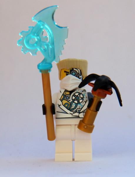LEGO® Ninjago™ Techno Zane Damaged - With Techno Blade with Falcon - Rebooted
