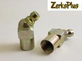 1/8-27 NPT Female 45° Grease Zerk Fitting 1 pc