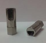 1/8-27 NPT Grease Zerk 90° Push On Hydraulic Coupler 1 Pc