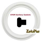 """Sanitary Gasket 1/2"""" EPDM White Price for 2 pcs"""