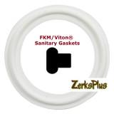 "Sanitary Gasket 1/2"" FKM/Viton® White Price for 1 pc"